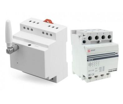 Комплект управления питанием с повышенной нагрузкой на 4 полюса до 32А Simpal D210-32-4NO